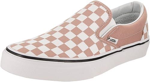 vans checkerboard rose
