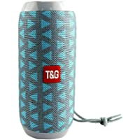 Bluetooth Wireless Rechargeable Stereo Speaker HiFi Portable USB/TF/AUX Outdoor (Grey)
