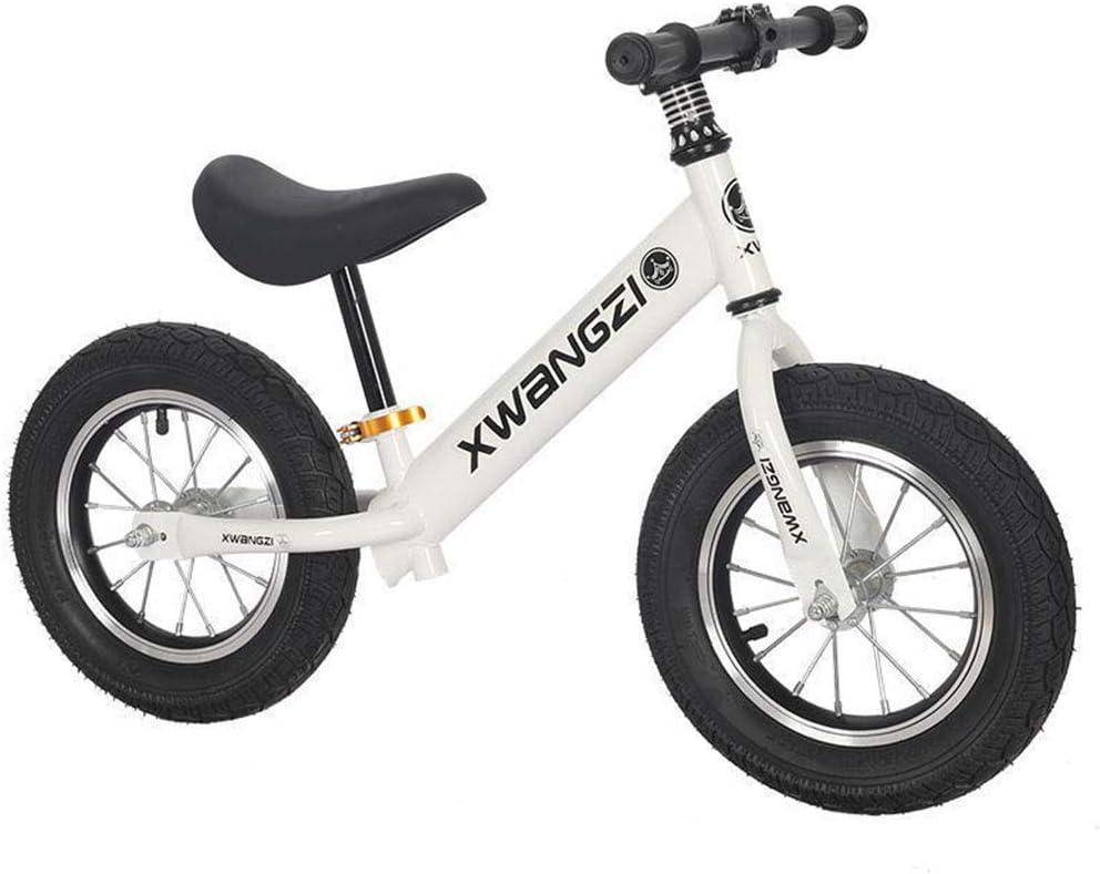 KELITE Neumáticos Equilibrio Bike Training Pro Niños Metal Primera inflables Bicicletas Empuje niños pequeños/n Pedal Vespa Bicicleta con reposapiés