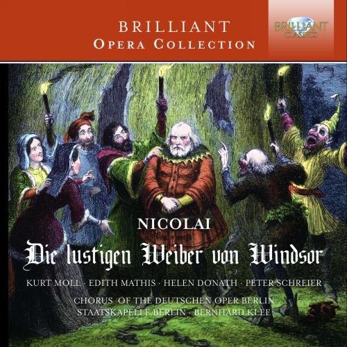 CD : Bernhard Klee - Die Lustigen Weiber Von Windsor (CD)
