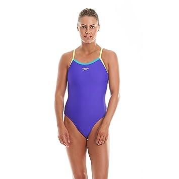 2d689f4c15fa3 Speedo Endurance 10 Thinstrap Muscleback Ladies Swimsuit