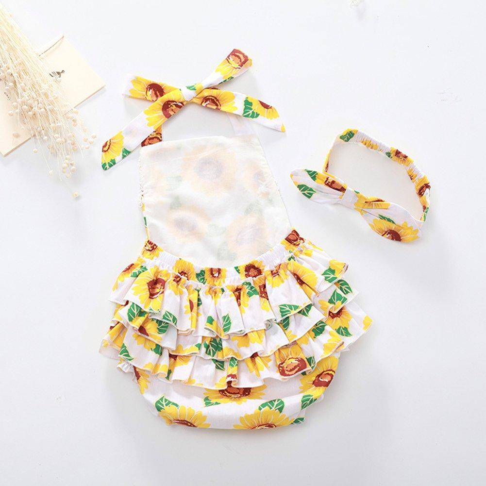 Amazon.com: Chung las niñas de bebé de algodón tutú ropa de ...