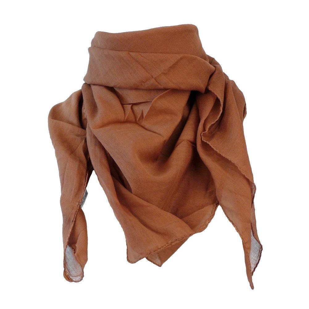 Baumwolltuch  Kufiya Shemagh Baumwollt/ücher Kopftuch  Langschal Halstuch  100cm x 100cm leichte indische Qualit/ät