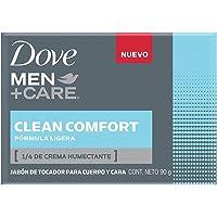 DOVE MEN+CARE Jabon Barra Clean Comfort 90g