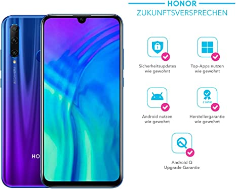 Honor 20 Lite 128 Gb Smartphone Bundle Mit 32mp Ai Elektronik