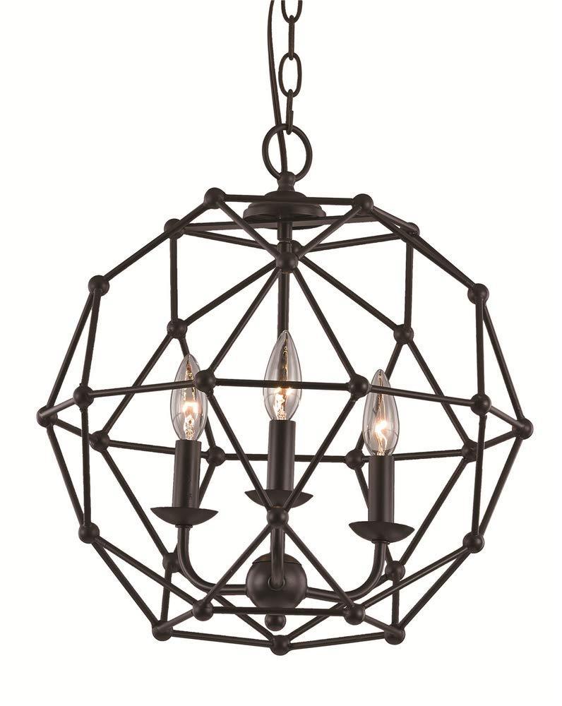 Amazon.com: Trans Globe iluminación 10343 ASL Avo Colonial ...