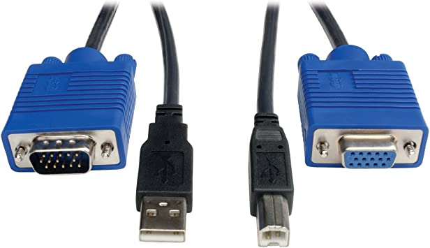 Tripp Lite KVM Switch Cable Kit Black