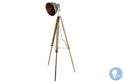 Indhouse - Lámpara de pie loft decoración industrial vintage ...
