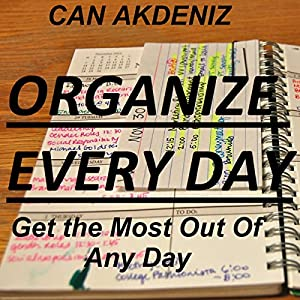 Organize Every Day Audiobook