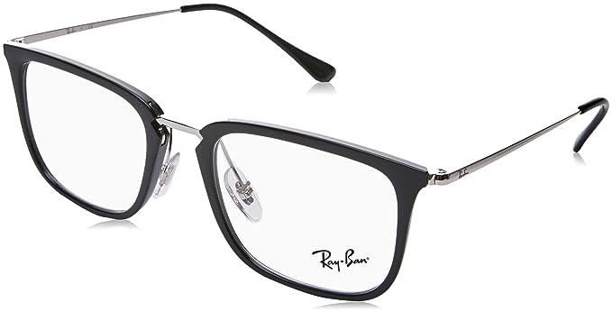 RAY BAN RAY-BAN Herren Brille » RX7141«, schwarz, 5753 - schwarz