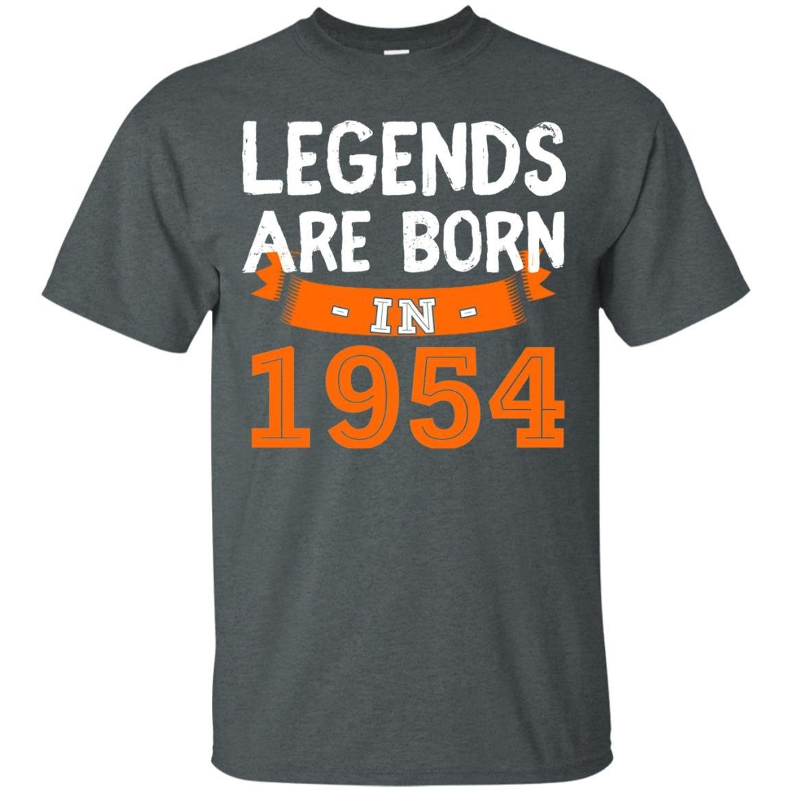 Amazon Dolphintee Birthday Shirt For Men And Woman Legends Are Born In 1954 Unisex Fit T Clothing