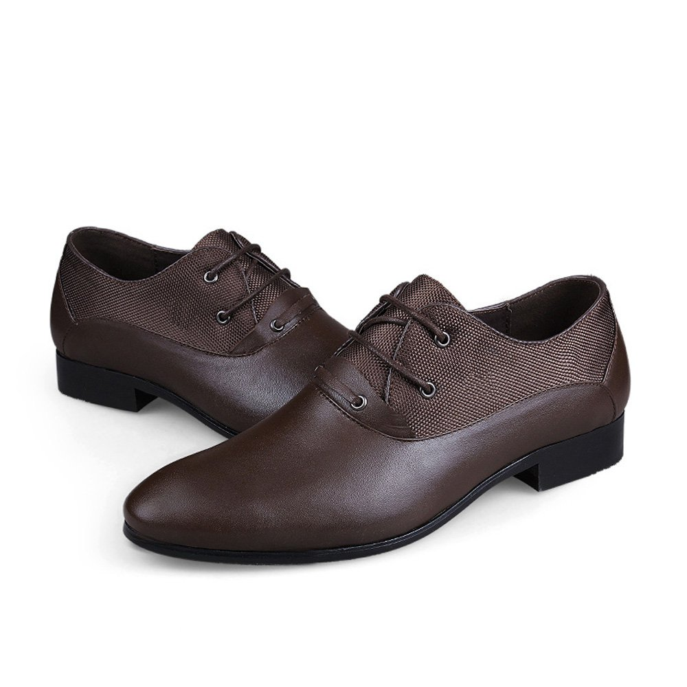 Men/' s First Layer of Cow Leather Casual Shoes British Business Shoes Oxfords