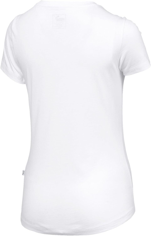 PUMA Ess Logo Tee Maglietta Donna