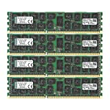 Kingston Technology Value RAM 64GB Kit 1600MHz DDR3 ECC CL11 DIMM DR x 4 with TS Intel Desktop Memory