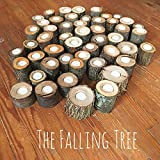 50 Real Log Tea light candle holders in Various Sizes, Perfect for Rustic Wedding centerpieces, graduation parties and more