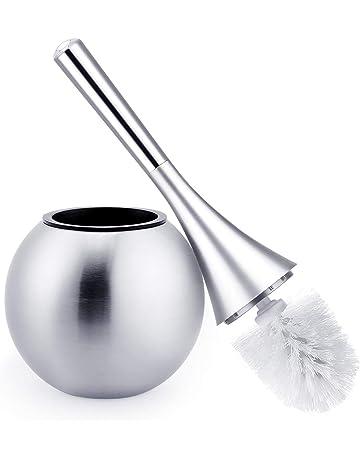 AGM Escobilla de Baño Elegante, Limpieza de Baño WC, Cepillo de Tocador, Escobilla