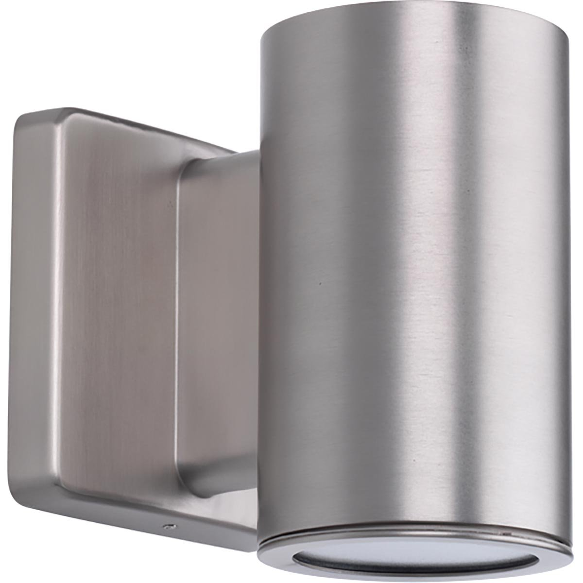 Progress Lighting P563000-147-30K 3IN Cylinders Wall Lantern, Grey