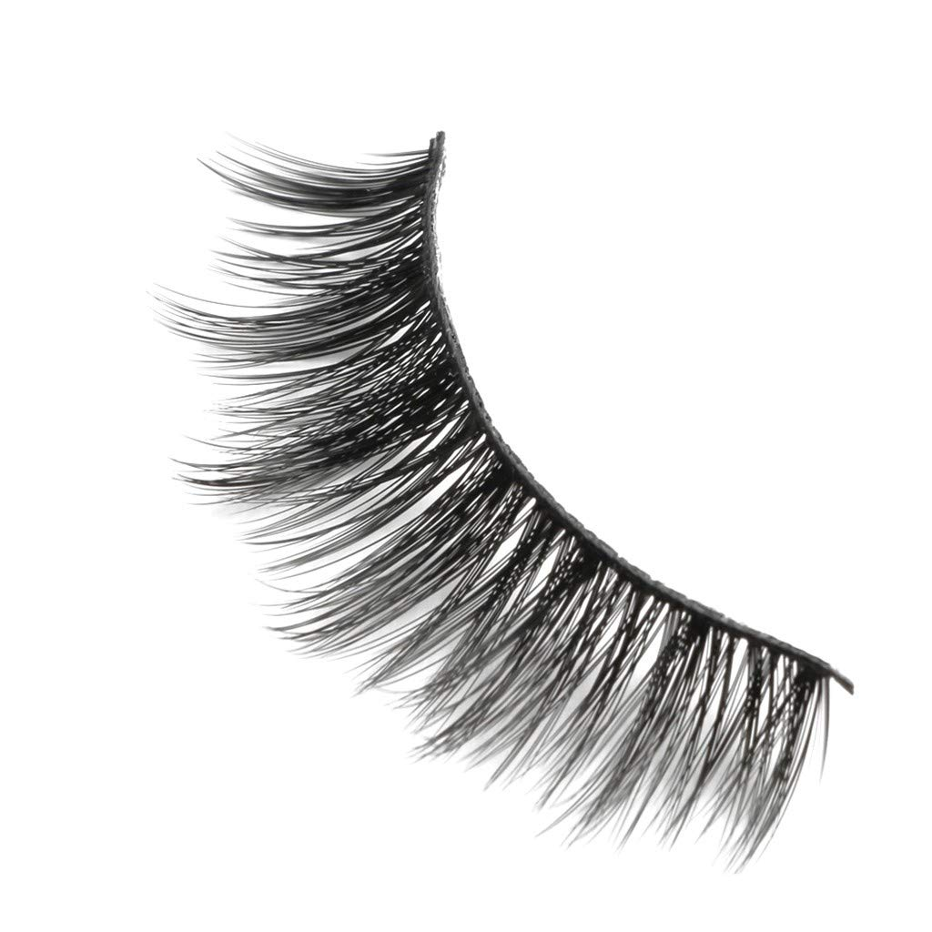 10abfc59f32 Amazon.com: False Eyelashes,10 Pairs of 3D Mink Fur with Soft Long Curly  and Warped Many Layer Eyelashes,Fluffy Thick False Eyelashes Makeup Kit  (F): Toys & ...