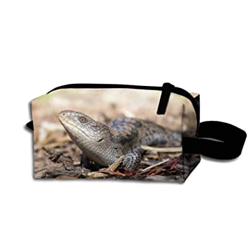 b3b3771c3295 Amazon.com : Storage Bag Travel Bag Animal Blue Tongue Skink Lizard ...
