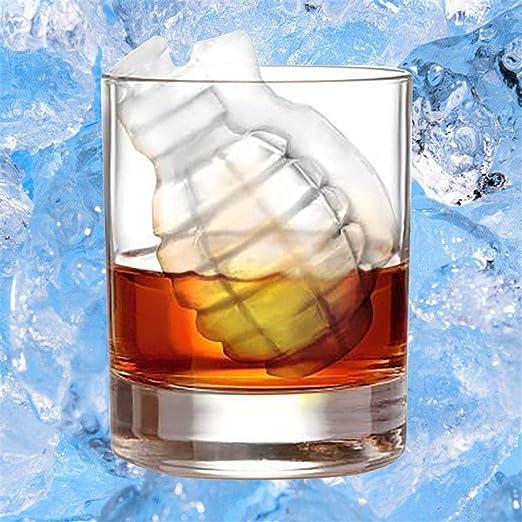 Molde de silicona 3D para hacer cubitos de hielo en forma de ...