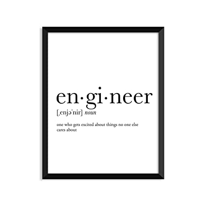Amazoncom Engineer Definition College Dorm Room Decor Dorm Wall