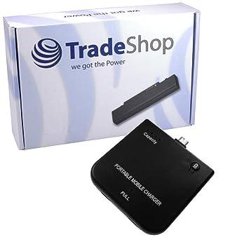 Batería adicional externa emergencia Accu carga cargador micro USB ...