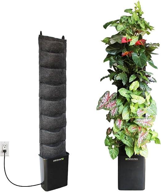 Florafelt Compact Vertical Garden Kit Living Wall System Hanging Planters Garden Outdoor