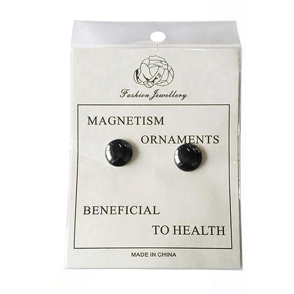 Gracefulvara 2 Pairs Weight Loss Earrings Healthy Stimulating Acupoints Stud Magnetic Therapy by Gracefulvara (Image #1)