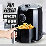 ROPALIA Air Fryer Multi-Functional Healthy Food Timer Fryer Oven Low Fat Oil Free Chicken Cooker Grilling Electric Deep…
