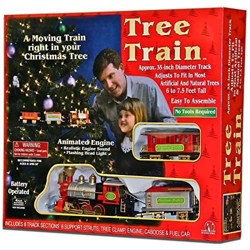 Christmas Tree Train - Animated Engine, with music and lights for your Christmas tree decoration by HDIUK (Image #3)