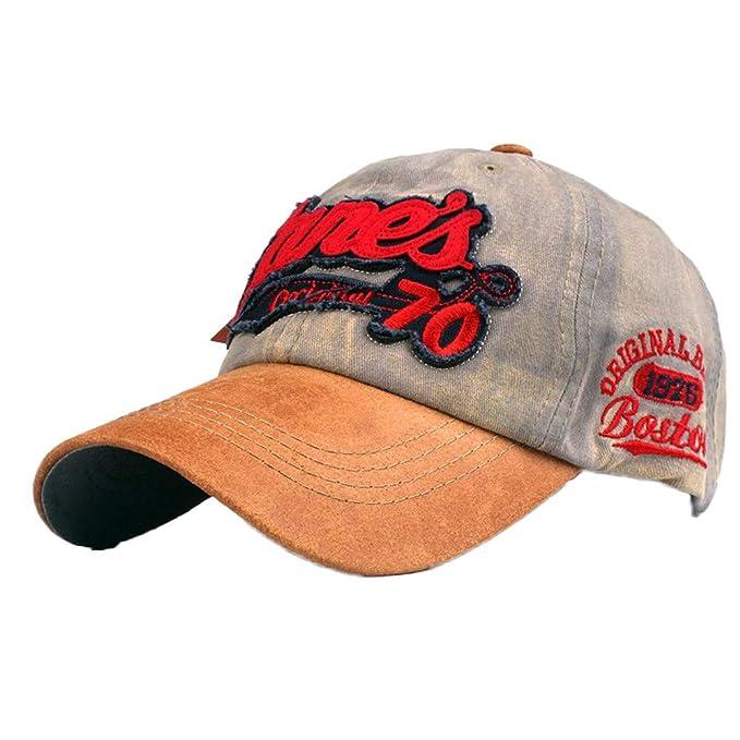 Cocoty-Store,2019 Gorras Beisbol,Gorra para Hombre Mujer Talla única Casquillo Bordado de Verano Sombreros de Malla para Casuales Sombreros Hip Hop Gorras ...