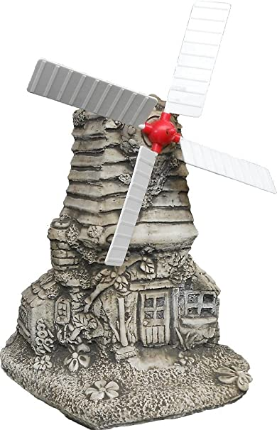 Large stone windmill garden statues ornament great look gift free uk large stone windmill garden statues ornament great look gift free uk mainland delivery amazon garden outdoors workwithnaturefo