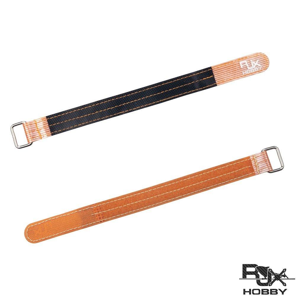【信頼】 RJXHOBBY オレンジ 高強度ノンスリップシリコン3 (M) ファイバーメタルクラップバッテリーストラップ 2個 20x230mm RJX2004O オレンジ B078W4DLNS RJX2004O B078W4DLNS オレンジ 20x230mm, ホンドシ:4e0a7404 --- a0267596.xsph.ru