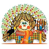 Colonel Pickles Novelties Make A Scarecrow Sticker Kits Halloween Thanksgiving Fall Crafts for Kids