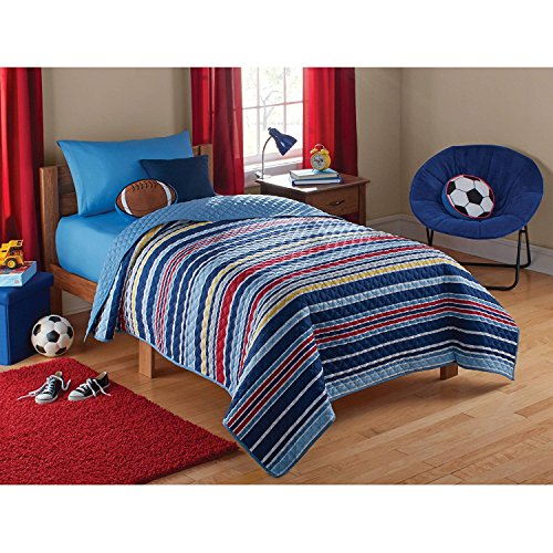 stripe quilt full - 5
