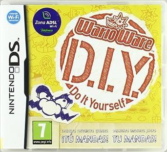 Wario ware do it yourself amazon videojuegos wario ware do it yourself solutioingenieria Image collections