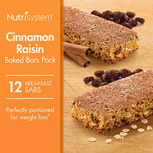 (Nutrisystem® Cinnamon Raisin Baked Bars Pack, 12 Count Bars)