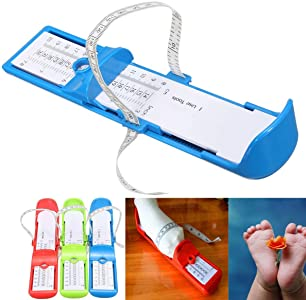 Shoe Sizer Toddlers Handy Foot Sizing Size Baby Kids Feet Measure Tool Newly