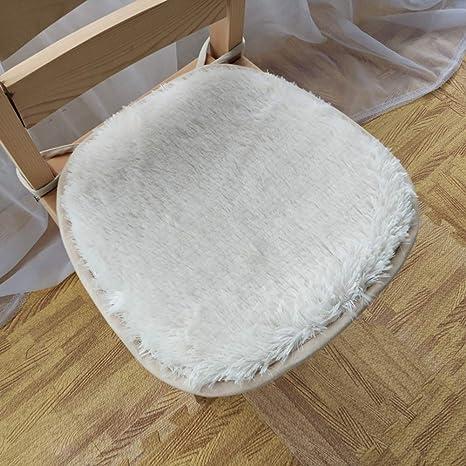 Invierno Felpa Cojín de la silla, Inicio Cojines de silla de ...