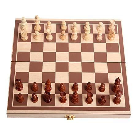 Liuxiaomiao Ajedrez LifeChamp portátil Juegos de ajedrez for niños ...