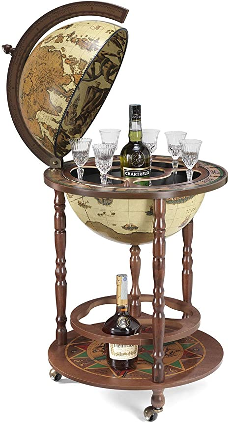 Art 40 Made in Italy Bar Globe by Zoffoli with Certificate of Authenticity