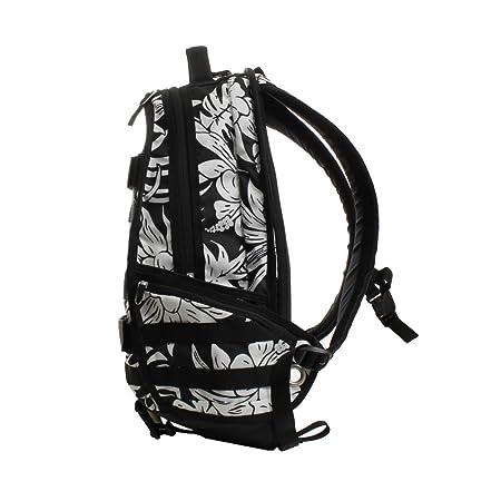 49a75a4e4cce Amazon.com  Nike SB RPB Graphic Tropic Skateboarding Backpack Black White   Sports   Outdoors