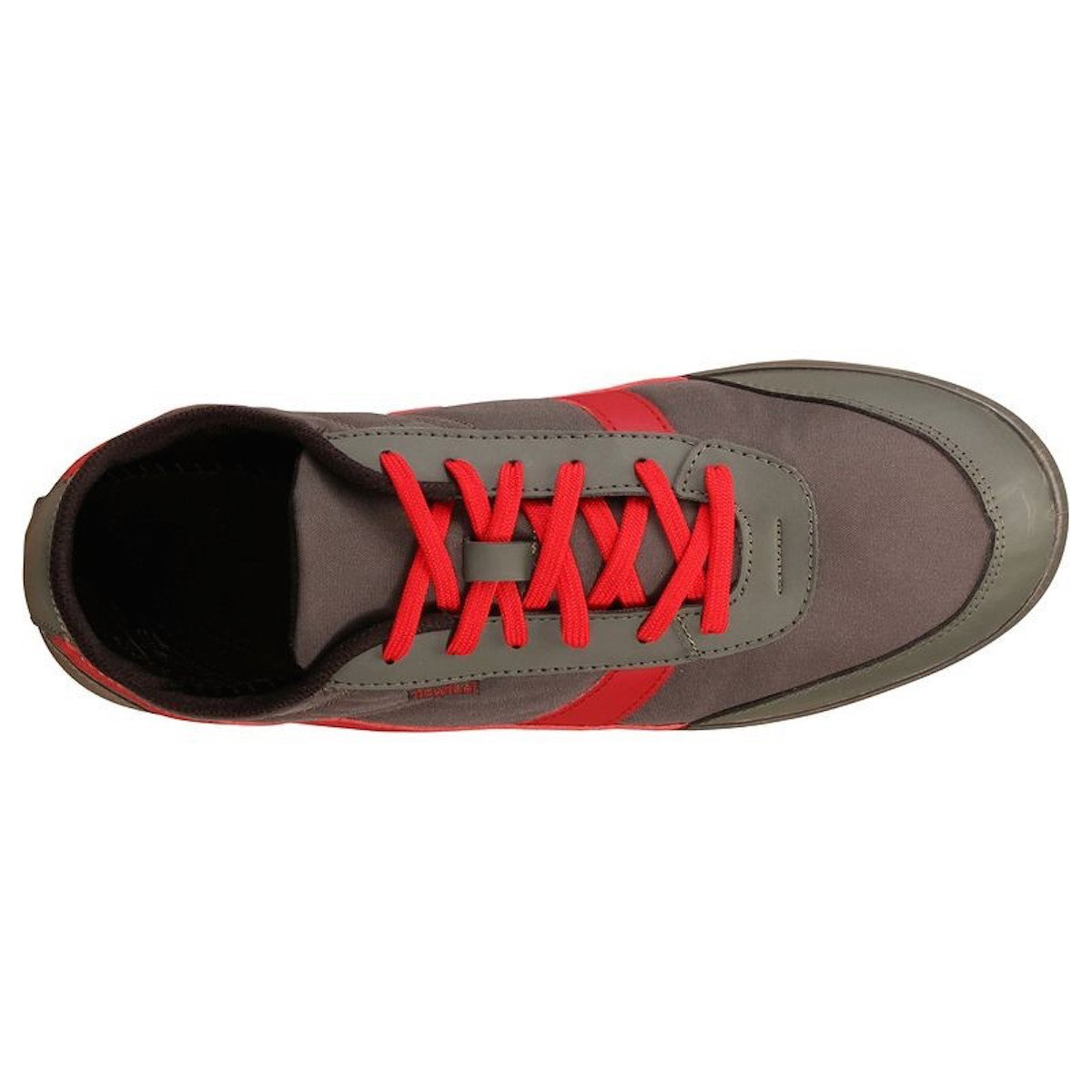 NEWFEEL - Zapatillas de Lona para niño Verde Kaki-Rot/Kaki-Red: Amazon.es: Zapatos y complementos