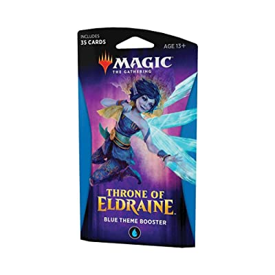 Magic: The Gathering Throne of Eldraine Theme Booster - Blue: Toys & Games
