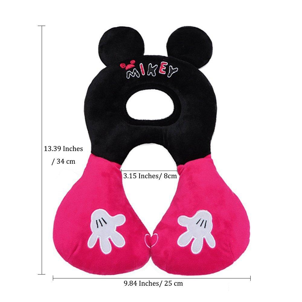 beste Geschenke f/ür Kleinkinder Inchant Baby-Kind-Kopf-Hals-Unterst/ützung Kopfst/ütze f/ür 1-4 Jahre Babys