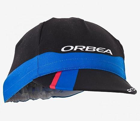 ORBEA Gorra Racing Negra/Azul/ROJA: Amazon.es: Deportes y aire libre