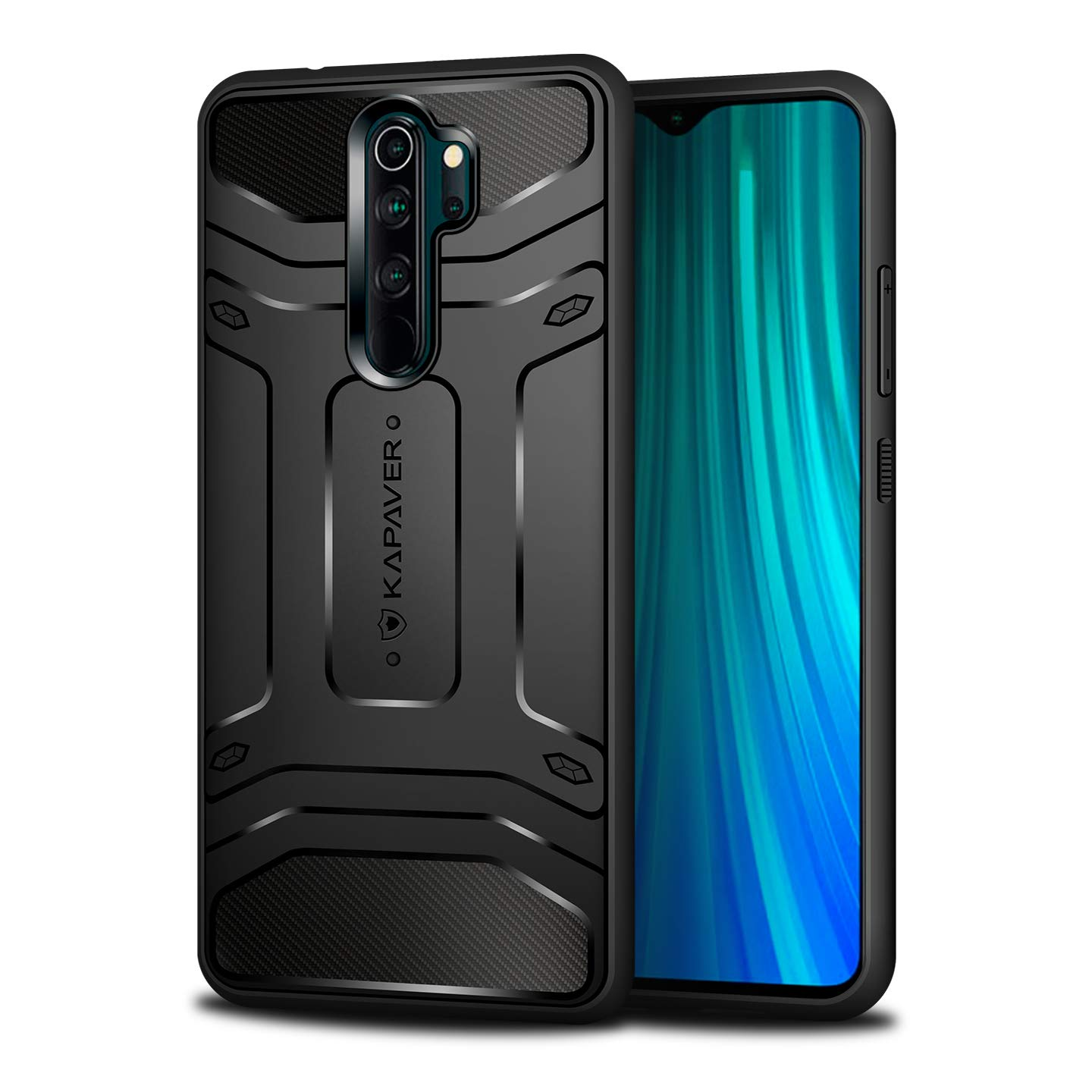 Kapaver Rugged Back Cover Case For Xiaomi Redmi Note 8 Amazon In Electronics