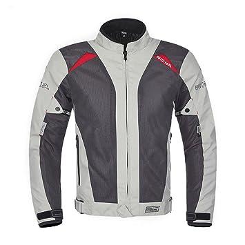 GTYW, Chaquetas Y Protección para Motociclistas De Hombre - Chaqueta De Moto Textil, Impermeable Y Cortavientos, Pantalones, Blanco Y Negro, ...