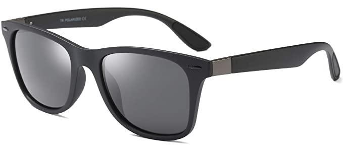 56f8bca2ec6 Image Unavailable. Image not available for. Color  FEISEDY Retro Polarized  Driving Sunglasses TR90 Frame Men Women ...