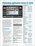 Adobe Photoshop Lightroom CC 2018 Classic Introduction Quick Reference Guide (Cheat Sheet of Instructions, Tips & Shortcuts - Laminated Card)